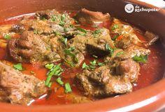 Uno de los platos que más me gusta de la #cocinacanaria El conejo en salmorejo con papas ¿quién la ha probado? http://www.recetasderechupete.com/conejo-en-salmorejo-receta-canaria/18602/