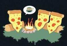 Histoire d'horreur pour les Pizzas