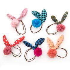 rabbit hair tie inspiration