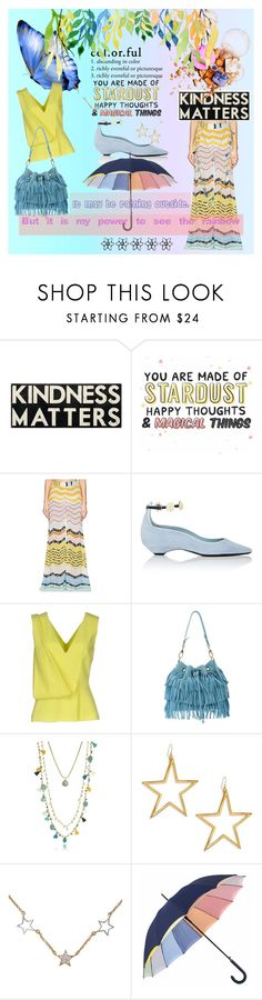 """""""It may be raining outside"""" by pilar2018 ❤ liked on Polyvore featuring Primitives By Kathy, Missoni Mare, Fabrizio Viti, Christopher Kane, L'Autre Chose, Tory Burch, Kenneth Jay Lane and NOVICA"""