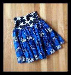 Star Wars Run and Play skirt ($25). Find me on Facebook at Ahuva Penina Designs.