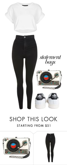 """""""Untitled #130"""" by kb1934733 on Polyvore featuring Topshop, adidas and statementbags"""