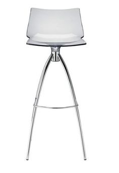 Tabouret de bar design polycarbonate - Sledge