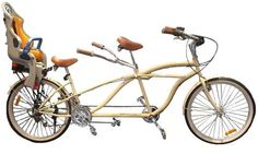 Bicycle Built for Three by Cynthia Rowley