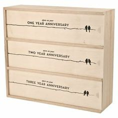 """Perfect as a wedding gift or for celebrating your anniversaries in style, this pine wood wine box showcases 3 compartments for storing bottles.   Product: Wine boxConstruction Material: Pine woodColor: NaturalFeatures: Holds 3 bottlesDimensions: 8.3"""" H x 13.8"""" W x 4.5"""" D"""