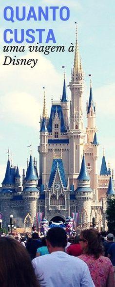 Quanto custa uma viagem à Disney em Orlando | Malas e Panelas