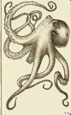 Octopus by KrisOdin.deviantart.com on @deviantART