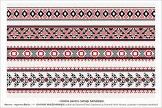 Semne Cusute: romanian traditional motifs - MOLDOVA - Bacau - sa... Fabric Patterns, Beading Patterns, Knitting Patterns, Fertility Symbols, Folk Embroidery, Moldova, Tapestry Crochet, Henna Designs, Pixel Art