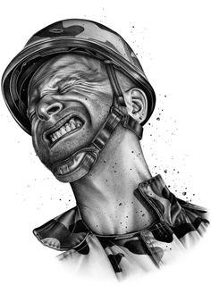 War  by Violaine & Jeremy, via Behance
