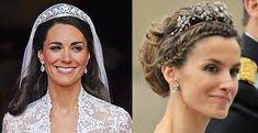 Risultati immagini per tiara per velo