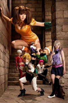 Nanatsu no Taizai - The Seven Deadly Sins Cosplay