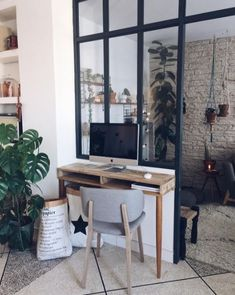 We are in love with this DIY inspired home by @ju_blogdecouvrirdesign. Here with Carl 700 Teak.