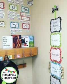The Simplified Classroom is a blog by First Grade Teacher, Erica Truitt.