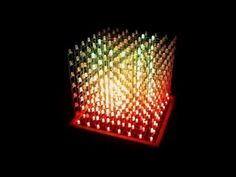 Real-time Driving of RGB LED Cube using Unity3D | Hackaday