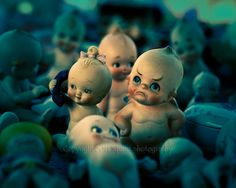 OMG...so funny!    Kewpie Doll with Frown at The Flea Market 8 x 10 Print Fine Art Photography