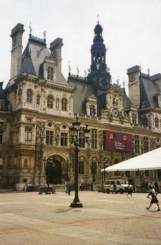 | ♕ |  Hôtel de Ville Paris  | by © jane_sanders