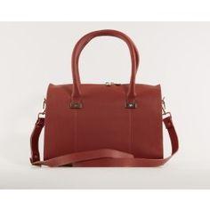 ZALE at KAZA.dk! Bags, suitases, backpacks, wallets.. Go and find your bag :-)  (Rustrød Adax Serini Håndtaske)