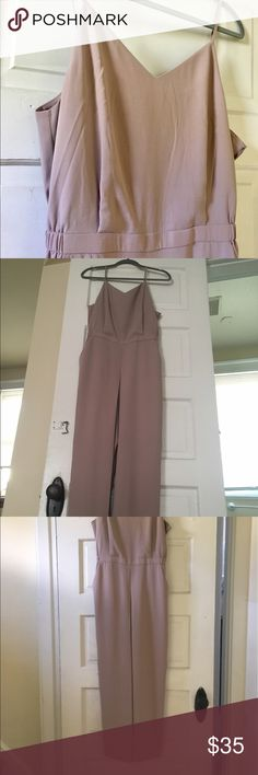 Uniqlo rosy beige jumpsuit! Uniqlo is known for their simple but incredibly stylish shapes, and this jumpsuit is a perfect example. I love that it could be worn for a night out or to the office! It has a very sexy silhouette with a straight leg pant and pockets. The color is a rosy beige. New with tags! I am devastated to give this up, but my torso is too short (I am 5'3) this one is for tall girls and girls with long torsos! It would fit a 6 to 8 best. The waist is elastic so it is…