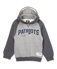 Look at this #zulilyfind! New England Patriots Fleece Hoodie - Boys #zulilyfinds