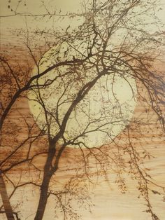 "Saatchi Online Artist: Marie Elaine Lalonde; Other, Mixed Media ""Seminis lunae -I-"""