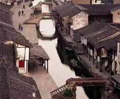安昌古镇。绍兴水乡城镇。走进中国11大最古老的城镇 一砖一瓦都有迷人的历史故事