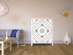 """Die Möbelfolie in dem Design """"Ornament Light 4"""" für deine #IKEA Möbel #ikeahack #Designfolie #Dekorfolie"""