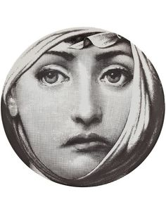 Fornasetti Printed Plate - L'eclaireur - Farfetch.com