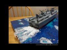 How to make sea diorama base?(My Way) - YouTube