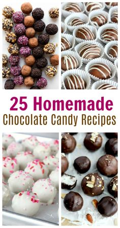 25 Homemade Chocolate Candy Recipes 25 delicious homemade chocolate candy recipes that are simple to make and absolutely decadent. English toffee, truffles, chocolate coconut bites and more. Hot Chocolate Fudge, Chocolate Candy Recipes, Chocolate Filling, Fudge Recipes, Homemade Chocolate Bark, Making Chocolate, Chocolate Candies, Winter Desserts, Köstliche Desserts