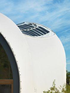 Solar Decathlon 2014 - Techstyle Haus project. Photo Credit : Kristen Pelou