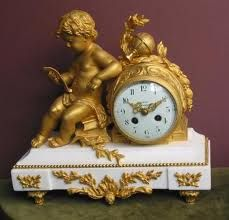 French pendule / Gold