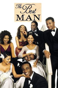 Harper, a writer who's about to explode into the mainstream leaves behind his girlfriend Robin and heads to New York City to serve as best man for his friend Lance's wedding. Best Man Movie, We Movie, All Movies, Movies And Tv Shows, Morris Chestnut, Nia Long, Black Authors, Hd Movies Online, Romance Movies