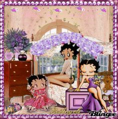 BETTY BOOP Pajama Party
