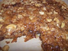 Fresh Apple Cake. This is amazing. You must eat it just out of the oven for the best bliss!