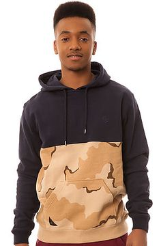 FA15 - The Division Split Hoodie in Desert Chipless Camo by 10 Deep