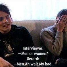 I love how frank just puts his head in his hands