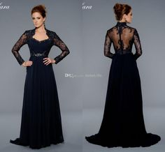 Wholesale Mother of the Bride Dresses - Buy 2014 Blue Long Sleeve Mother of the Bride Dresses Plus Size Evening Gowns Sweetheart Beaded Applique Backless Formal Prom Pageant Dress Sexy, $149.0   DHgate