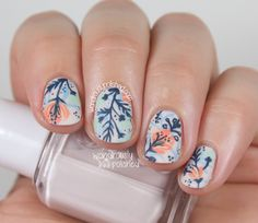 A Floral Dud - Nail Art - Wondrously Polished