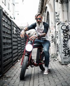 Urban Drivestyle UNIMOKE: The coolest fat tire electric urban e-bike