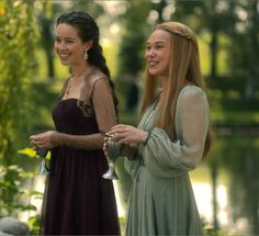 "Lady Lola & Greer of Kinross - Reign ""Blood for Blood"" - Season 2, Episode 5"
