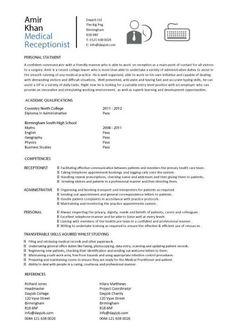 Curriculum Vitae Medical Doctor Jobresumesample Com 884