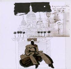 Dave McKean - Dessins - Galerie Barbier & Mathon - page 2 Dave Mckean, Ink Drawings, Comic Book Artists, Sketchbooks, Alter, Art Boards, Comic Art, Concept Art, Digital Art
