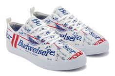As one of America's favorite beers, Budweiser is a welcome addition to Greats' collaborative roster. In an effort with Alife, the two collaborated for a new take on Greats' Wilson silhouette. Featuring an upper completely emblazoned with the classic Budweiser logo, the shoe demonstrates a unique take on the art of branding. The sneaker will …