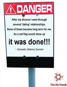 """As a red flag would show up"" ~ Domestic violence survivor #seethetriumph"