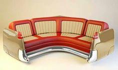 Die richtige Sitzecke fürs Cadillac Museum