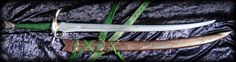 Warder's Heron Marked Blade by Fable Blade Custom Swords Sabres Wheel of Time
