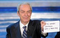 Daniele Piombi è morto   Aveva 84 anni il noto presentatore televisivo