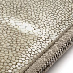 Bethge | Detail of wallet made of galuchat.