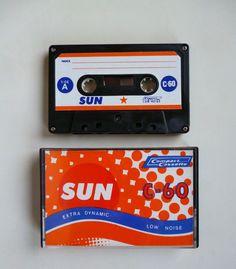 1 SUN cassette 60 / Audiokassette / Leerkassette / audio cassette