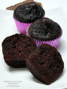 muffin al cioccolato tipo starbucks anche bimby